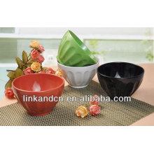 KC-04013, étagères en matières plastiques / bols à la glace, pot de riz en céramique