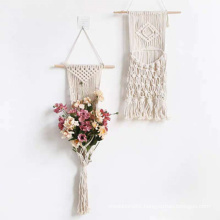 macrame wall hanging living room