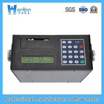 Black Protable Ultrasonic Flow Meter