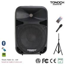 Popular 10 polegadas de plástico PRO Audio com excelente desempenho