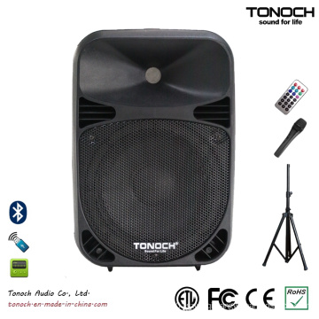Good Quality 8 Inches Plastic PA Speaker with Competitive Price