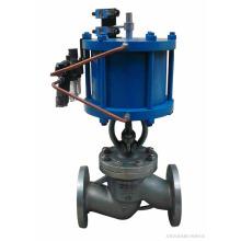 Xangai POV alta qualidade flange conexão operada a ar globo válvula pn10