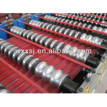 línea de producción de hoja de acero acanalada de la azotea