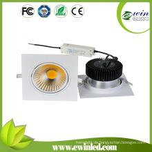 40W COB-Quadrat LED Down Light mit CE RoHS