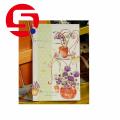 Tri folded postcard printing paper cards