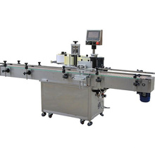 professional industrial High speed automatic positioning bucket bottle label labeling sticker machine