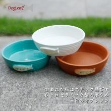 Natur Katze Schüssel Keramik Katze Kätzchen Futterschale 3 Farben