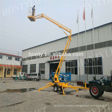 Towable mounted articulating boom lift factory directly price