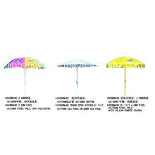 Wind Resist 840mmx8k parapluie de plage de publicité extérieure (YSBEA0026)