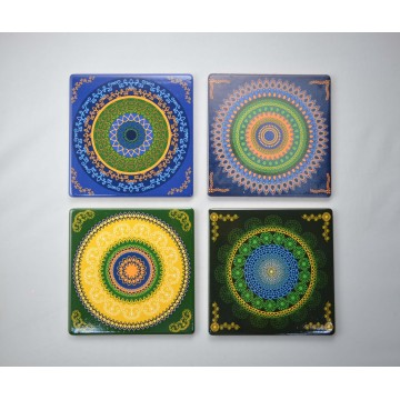 Square 15.5X15.5cm Ceramic Coaster