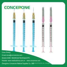 Jeringa de inyección de insulina desechable U100