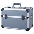 Customized Size Storage Carrying Briefcase Transparent Aluminum Tool