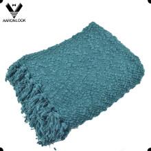 2016 Новое тканое коренастое одеяло с оборками
