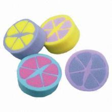 Fruit Shape Bath Sponge, OEM Orders Accepted
