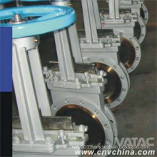 Cast Iron&Cast Steel Double Flanged Knife Gate Valve