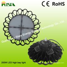 Forma de funcionamento nova da flor da iluminação da baía alta do diodo emissor de luz de Osram 200W