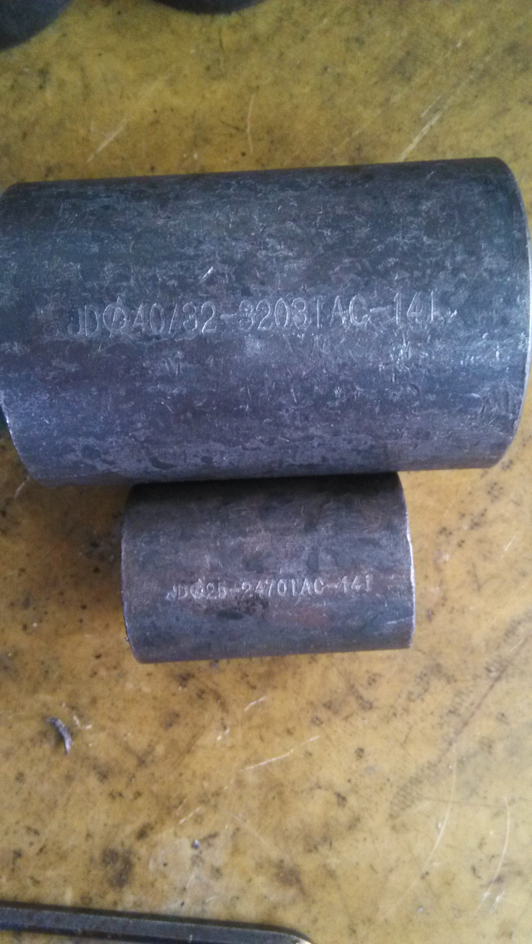 Black Color Rebar Coupler