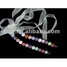 Ceinture de soutien-gorge à bretelles perlée à la mode