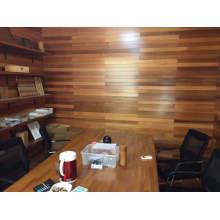 Panel de madera de pared de oficina