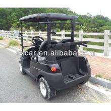 CE 2 Sitze Acryl Glas Handwerk Perlen Mini Auto elektrischen Golfwagen