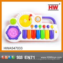 Los juguetes animales musicales vendedores calientes del piano del juguete de los niños del piano juegan
