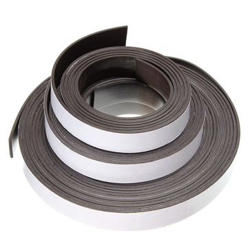China Manufacturer for for Strong Strength Rubber Magnet Flexible Self Adhesive Magnetic Strip Roll export to French Polynesia Exporter