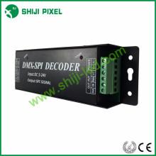 Vários sinal de interruptor 3 w dmx para spi decodificador de luz led