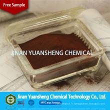 Lignosulphonate de sodium de contrôle de la poussière de poudre de Brown rouge