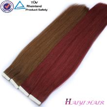 Fita dobro da extensão do cabelo de Remy do alvorecer 100 da qualidade superior na extensão do cabelo humano