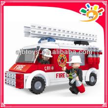 Fire fighting truck toy 150 pieces blocks toy truck blocks