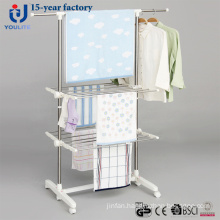 Stainless Steel Two Layer Telescopic Garment Hanger