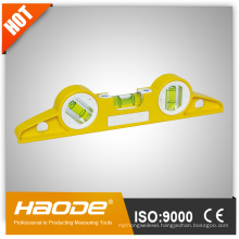 High accuracy casting aluminium measuring tools mini spirit level