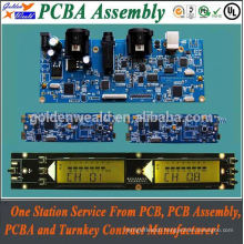 Control Board PCBA for LCD Display with Double Side Layers laptop pcb assembly