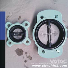 Wcb/CF8/CF8m Metal Seat Butterfly Check Valve