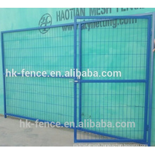 Factory design & produce high quality temporary fence panel & temporary fence gate for sale to Europe,Australia New Zealand etc