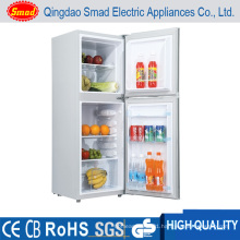 118L DC 12V Solar Fridge and Freezer Double Door Fridge