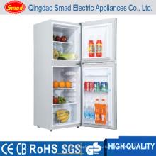 118L DC 12 в Солнечной холодильник и морозильник Двойная дверь холодильник