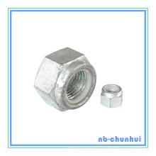 Ecrou hexagonal en nylon hexagonal DIN 985