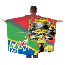Full Color Printed Sports Flag Cape For Fans