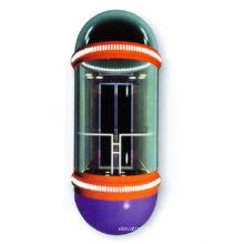 Elevador panorâmico moderno com alta velocidade