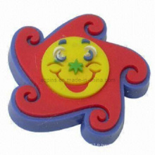 Hot Selling Cartoon Soft PVC Pins avec clip de papillon (Pin-04)