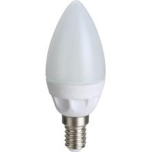 Cerâmica de LED vela lâmpadas C30 2835SMD 5W 470lm AC100 ~ 265V