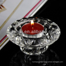 Sell well new type small floor standing crystal drop candle holder