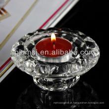 Vender bem novo tipo pequeno chão de cristal suporte de vela gota