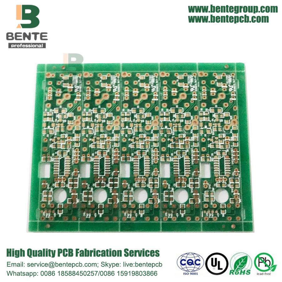 4-Layers Difficulty Placa Multilayer 2oz PCB ENIG 2u