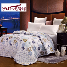 Factory Directly Luxury Comfortable Summer quilts cheap polyester quilt