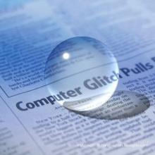 Boules de cristal transparentes de 20 mm à 300 mm
