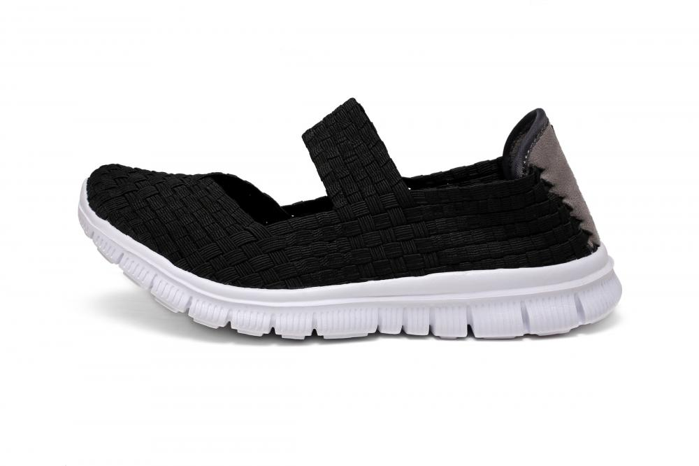 Black Woven Dance Shoes