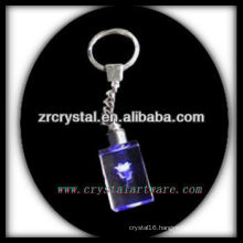 laser etched crystal keychain and blank crystal G059