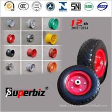 4.10/3.50-4 Heavy Duty solide pneu pour chariot/brouette